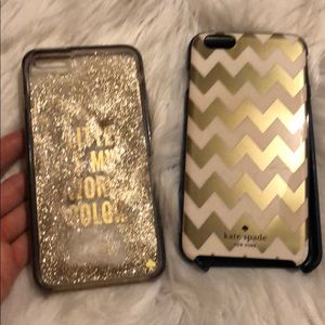 Kate Spade Glitter is My Fav Color Iphone 7+ case